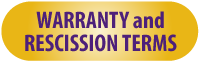 B.T. Gutters Warranty & Rescission